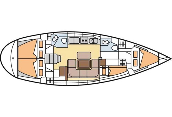 bavaria 42 cruiser • Navis Gaudia.