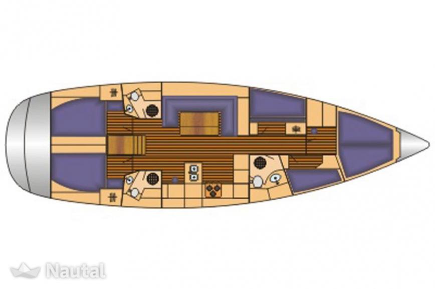 Sailing boat rent Bavaria 51 Cruiser in Yachthafen Flensburg.