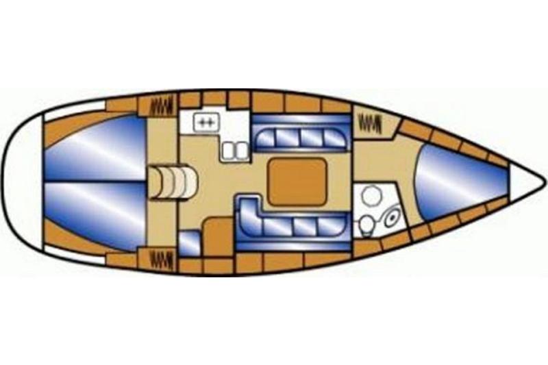 Bavaria 37 Cruiser Sibenik, Zaton, Lavsa.