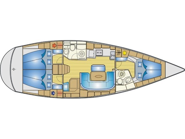 Sailing yacht Bavaria 42 Cruiser for charter in Italy from $2 197.