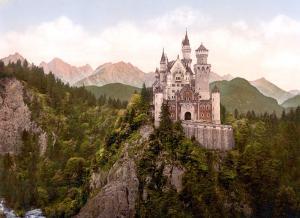 Neuschwanstein Castle Bavaria Germany Clip Art Download.