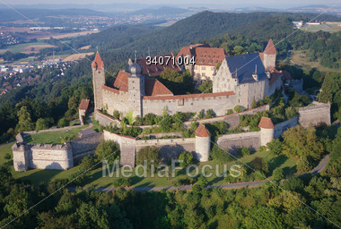 Stock Photo Castle Veste Coburg Bavaria Germany Clipart.