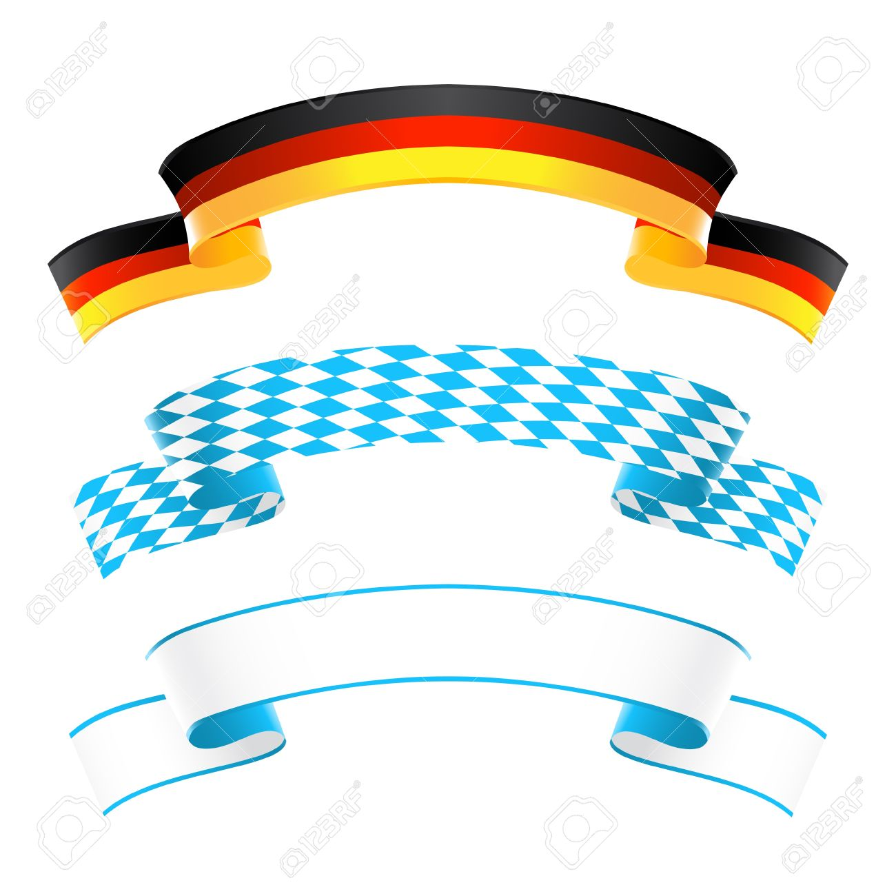 Germany And Bavaria Banners Royalty Free Cliparts, Vectors, And.