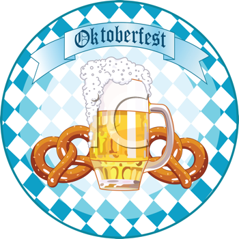 German Bavarian Oktoberfest Clipart.