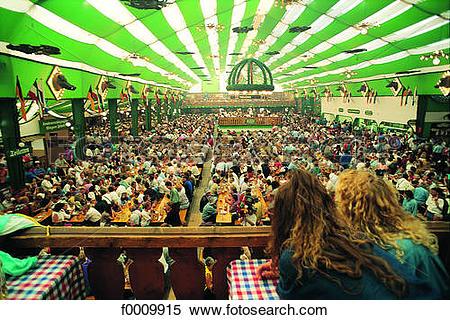 Stock Image of Bavaria, Munich, Oktoberfest f0009915.