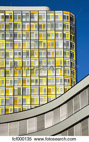 Stock Image of Germany, Bavaria, Munich, ADAC Headquarters.