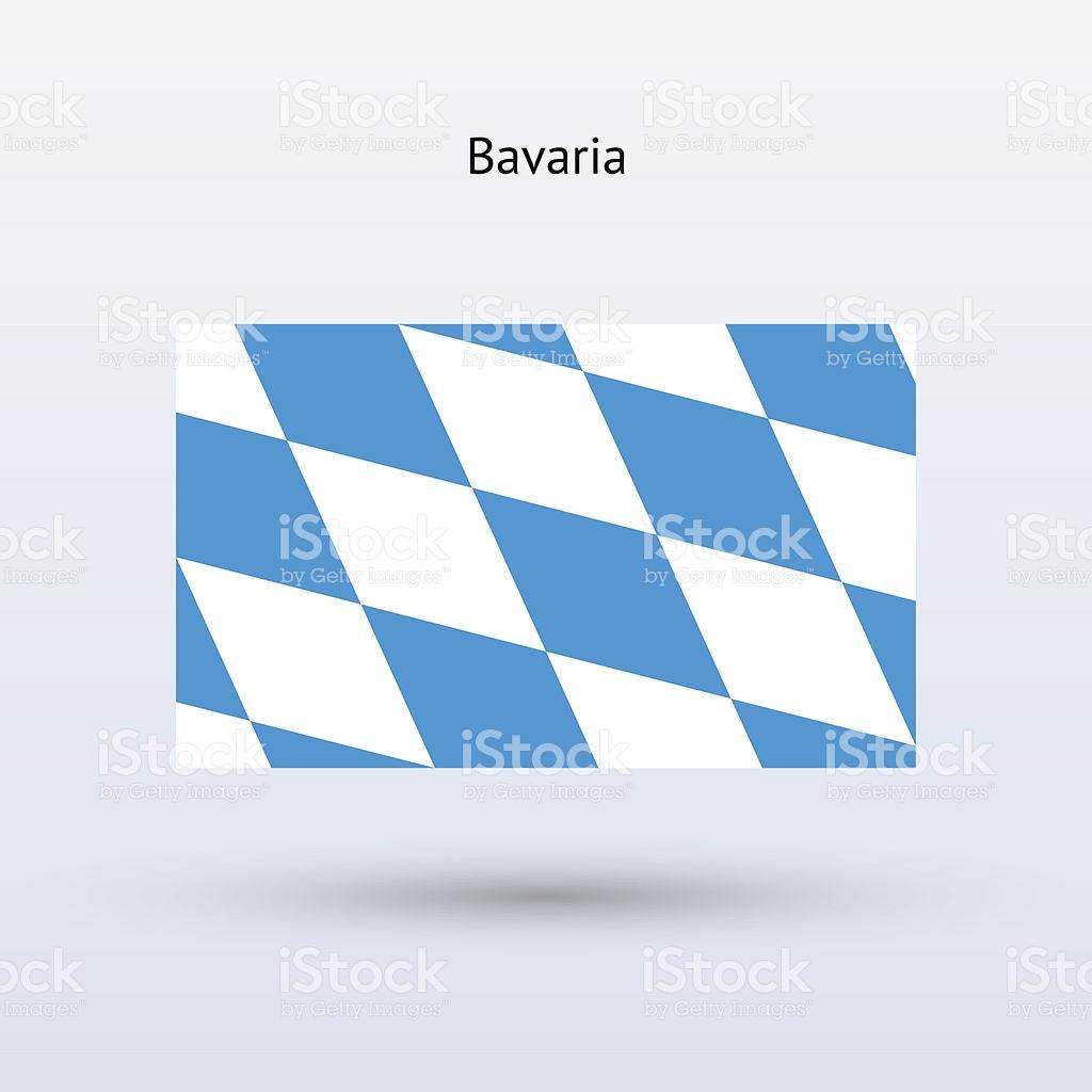 State Of Bavaria Flag stock vector art 451028321.