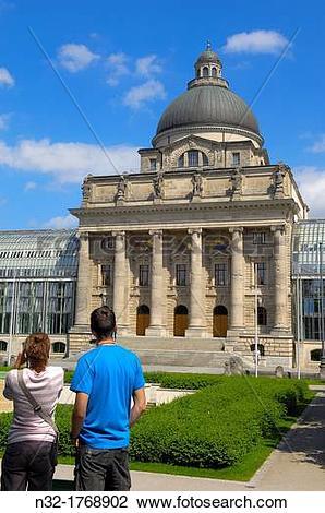 Stock Photo of Bavarian State Chancellery (Bayerische.