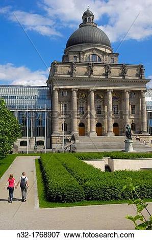 Picture of Bavarian State Chancellery (Bayerische Staatskanzlei.