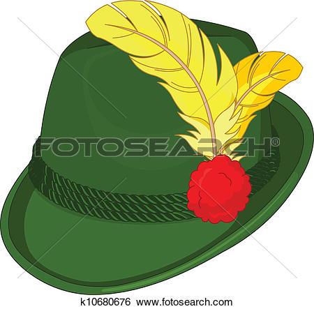 Clip Art of Bavaria Hat k10680676.