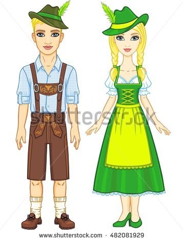 Bavarian Stock Images, Royalty.