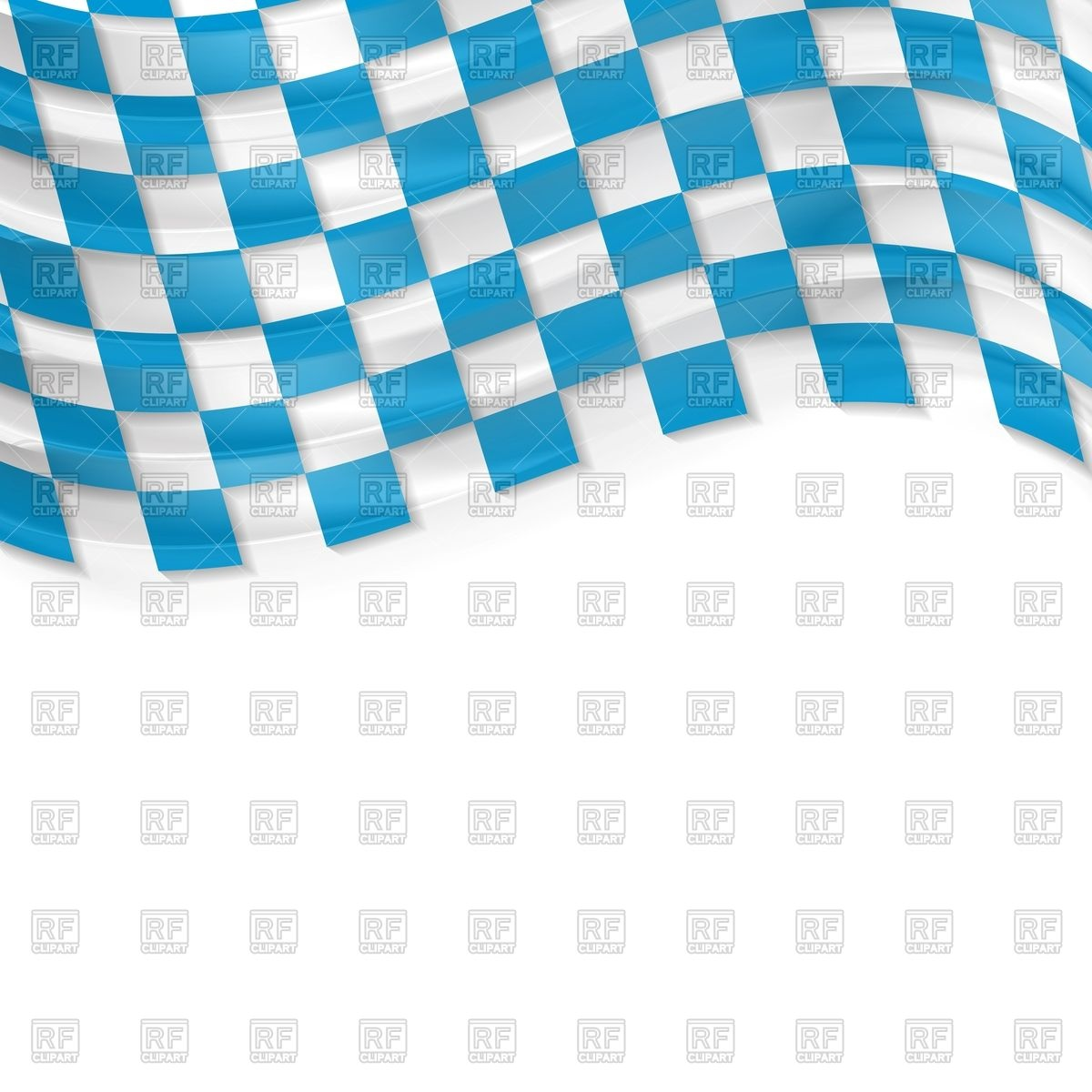 Oktoberfest background with wavy bavarian flag Vector Image #45912.