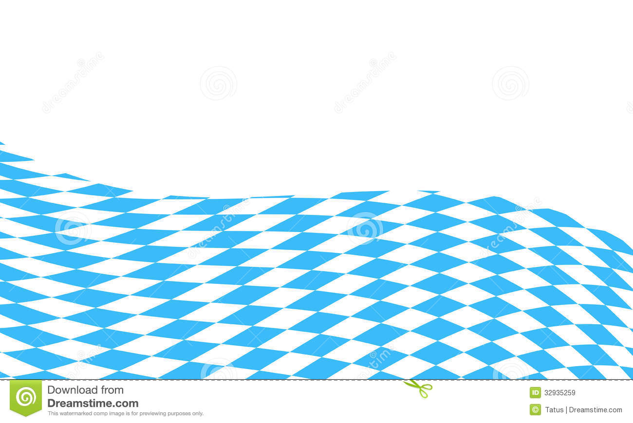 Bavarian Flag Background Royalty Free Stock Images.