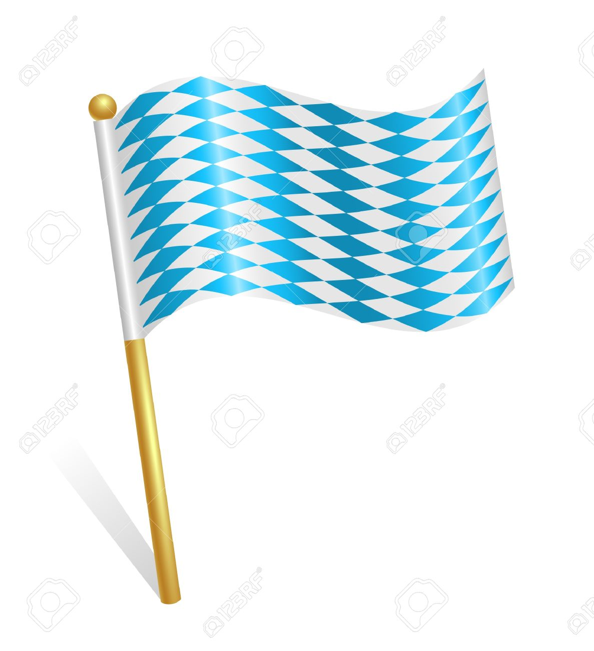 Bavaria Flag Icon Royalty Free Cliparts, Vectors, And Stock.