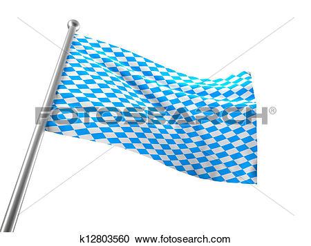 Stock Illustrations of bavaria flag k12803560.