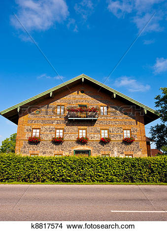 Stock Photo of Bavarian House k8817574.