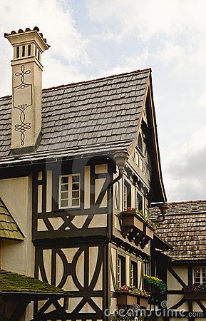 Bavarian Home Stock Image.