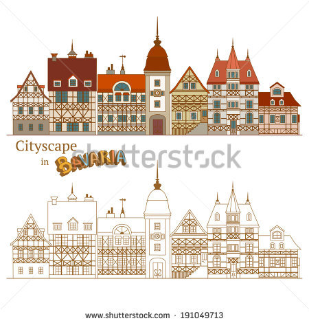 Bavarian House Stock Photos, Royalty.