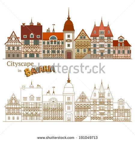 Bavarian House Stock Photos, Royalty.