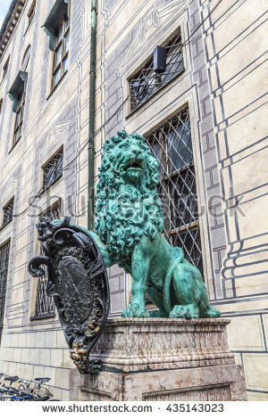 "bavarian Lion"" Stock Photos, Royalty."