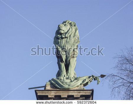 Bavarian Lion Stock Photos, Royalty.