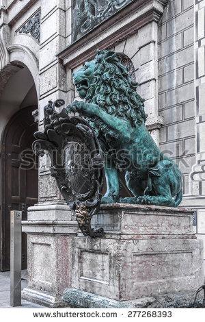 "bavarian Lion"" Stock Photos, Royalty."