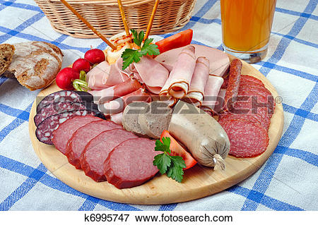 Picture of Bavarian Snack Plate k6995747.