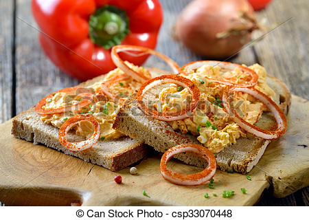 Stock Photo of Bavarian cheese.