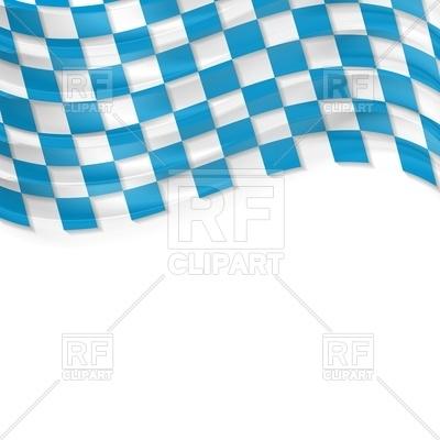 Oktoberfest background with wavy bavarian flag Vector Image #45912.