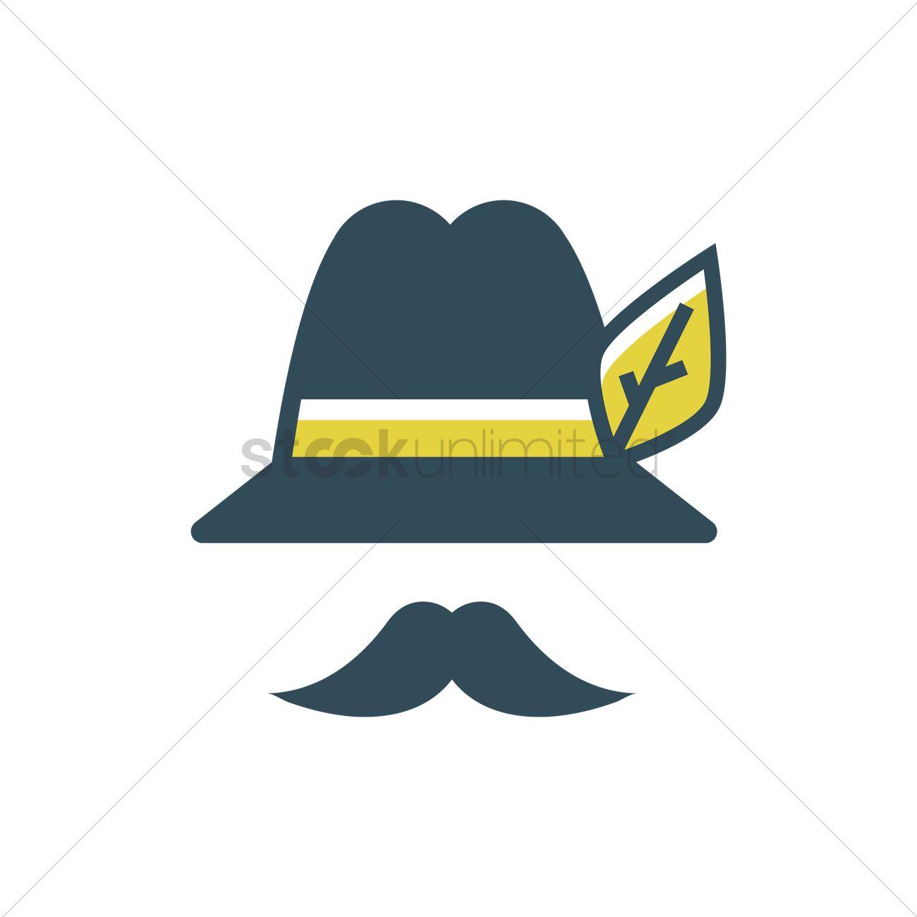 Bavarian hat Vector Image.