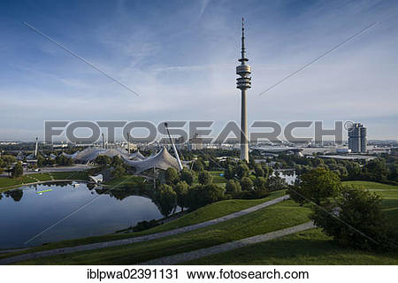 """Stock Photography of """"Olympic site, Olympic Park with the."""