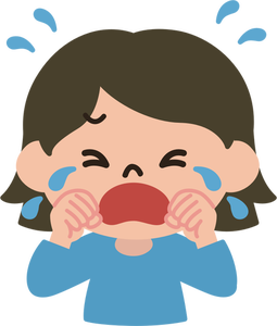 7 bawling free clipart.