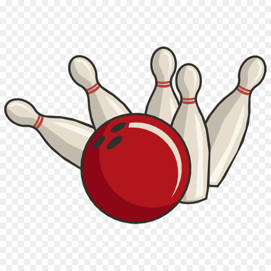 Halloween Bowling Clipart.