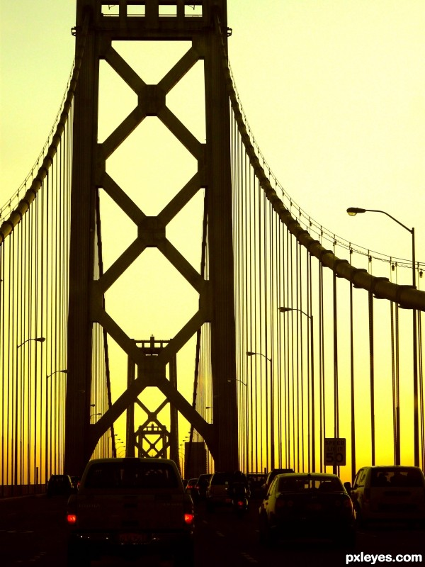 Bay Bridge Clip Art.