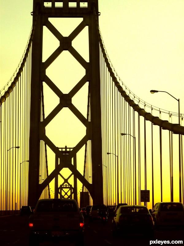 Bay Bridge Clip Art.