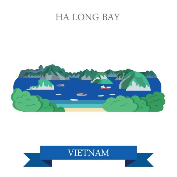 Best Halong Bay Illustrations, Royalty.