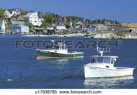 Stock Image of village, maritime, marine, bay, harbor, little.