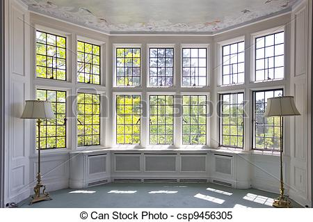 Stock Images of Bay Window.