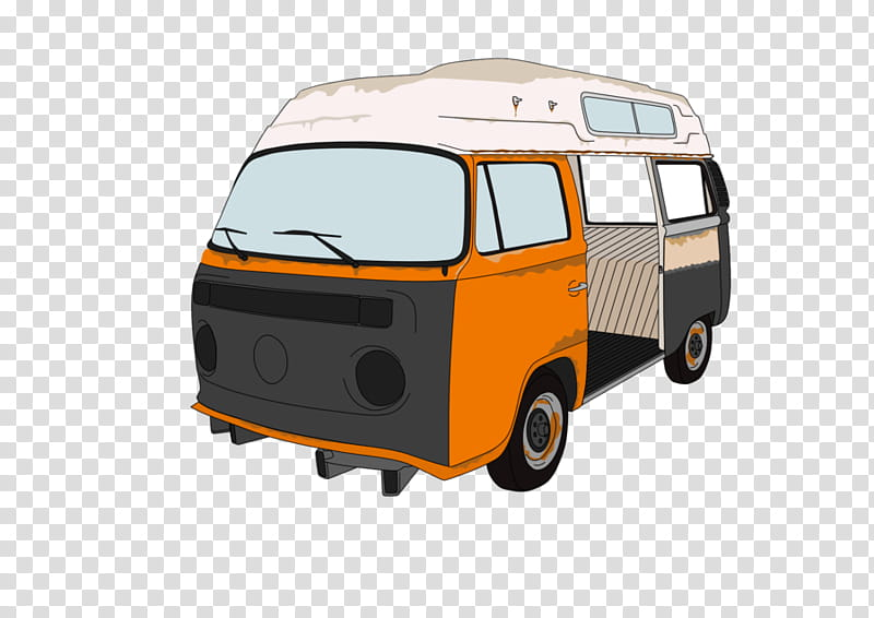 Sheldon The Bay Window VW transparent background PNG clipart.