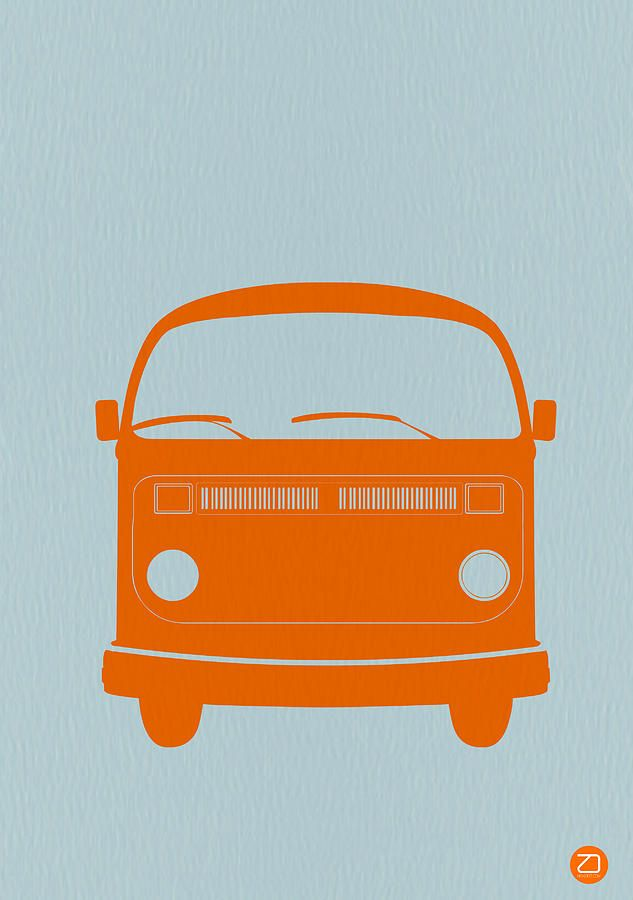 Vw Bus Front Drawing.