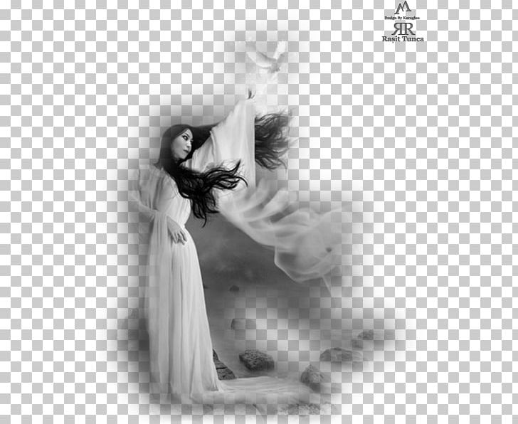 Black And White Photography Woman PNG, Clipart, Angel, Bayan.