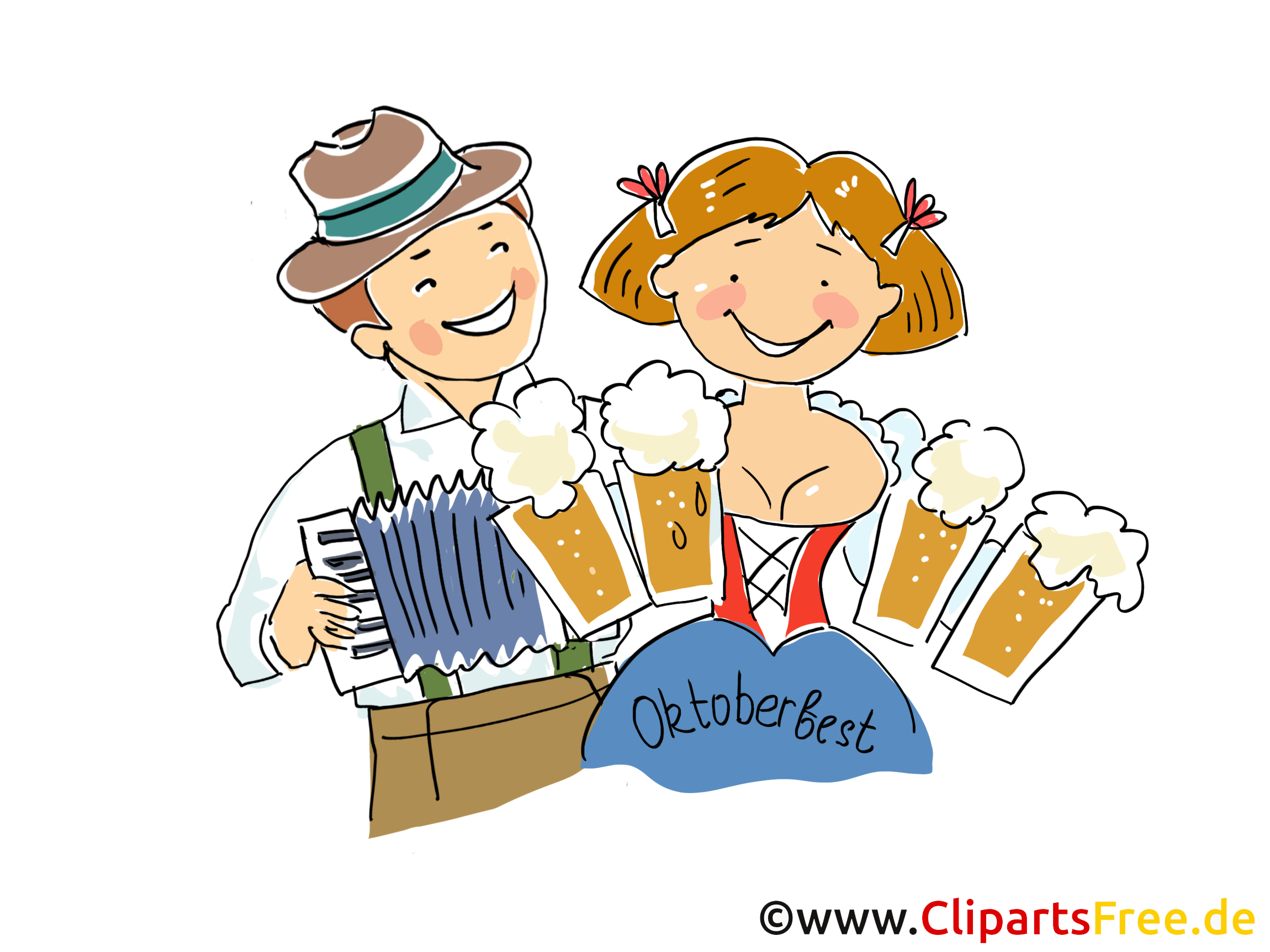 Clipart oktoberfest kostenlos.