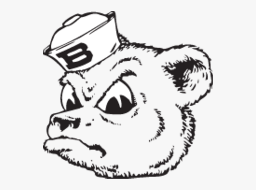 Transparent Bear Clipart Black And White.