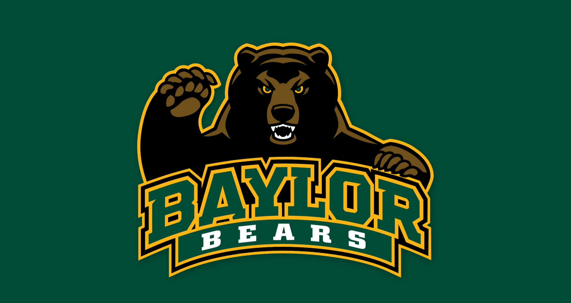 Baylor Bears logo HD wallpaper.