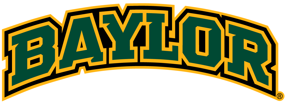 Baylor Bears Wordmark Logo.