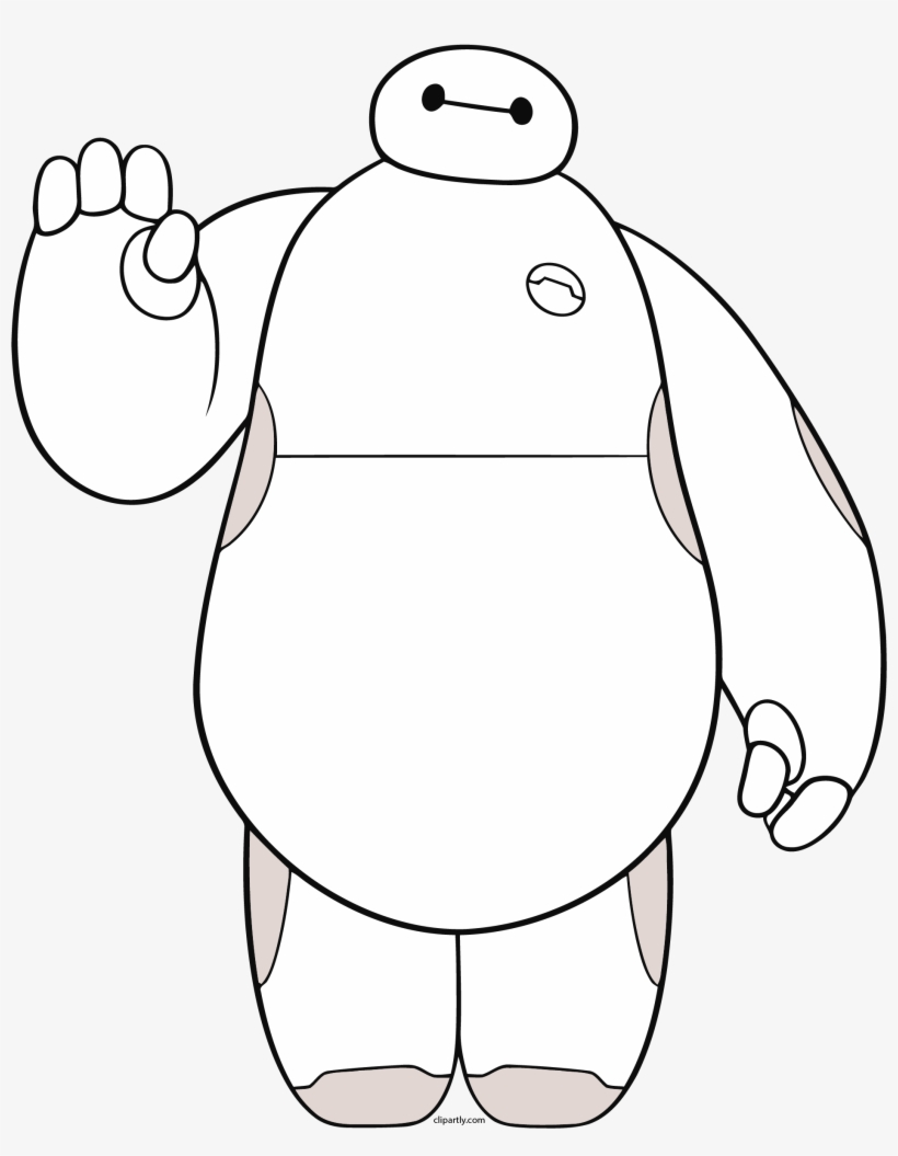 Baymax Clipart to free.