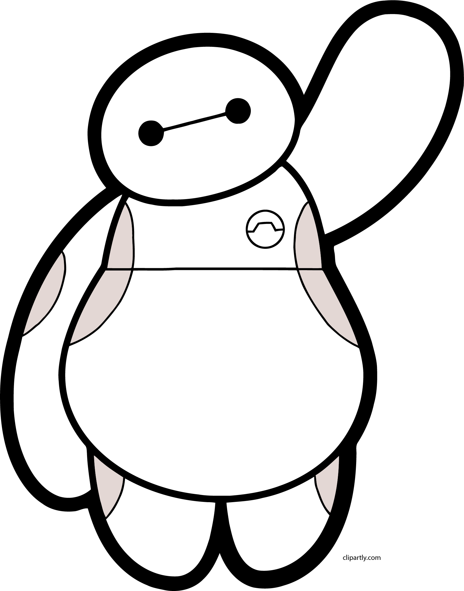 Baymax Hello Png Clipart.