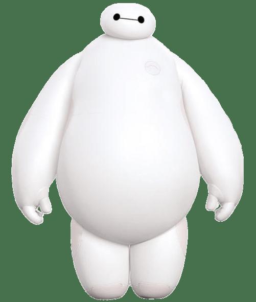 Big Hero 6 Baymax transparent PNG.
