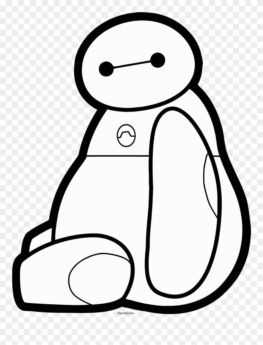 Baymax Stay Png Clipart.