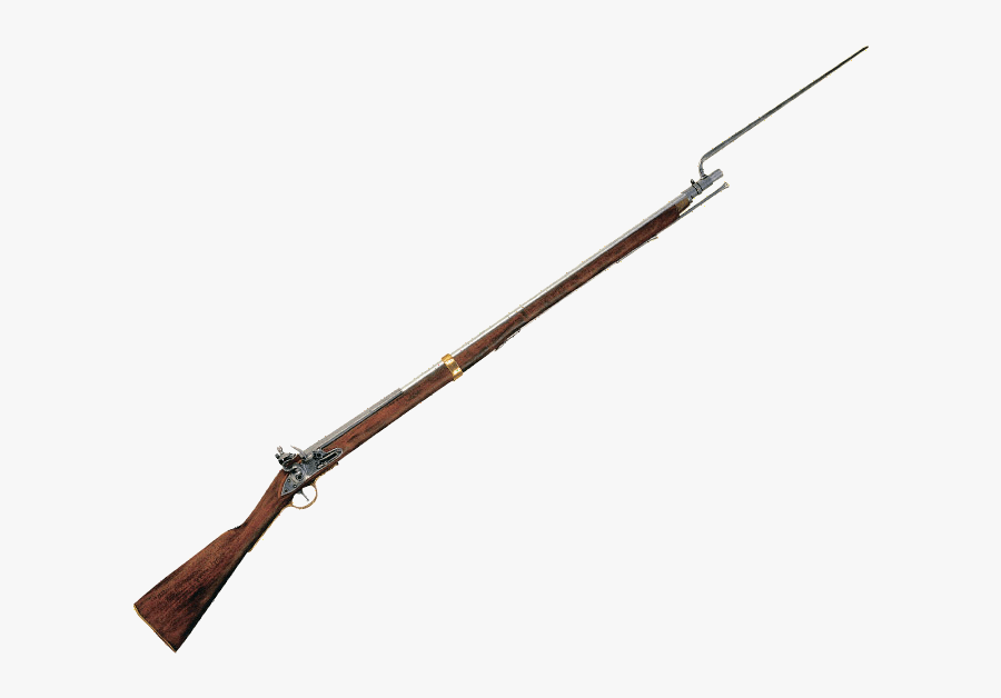 Revolutionary War Guns With Bayonets Clipart , Png.
